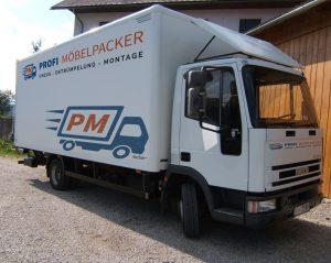Profimöbelpacker Übersiedlung Wien